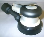 "Industrial Central Vacuum 5mm LP Random Orbital Sander With 3.5"" Pad"