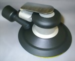 "Industrial Central Vacuum 5mm LP Random Orbital Sander With 6"" Pad"