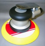 "Industrial 5mm LP Random Orbital Sander With 6"" Pad"