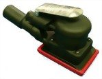 "Composite Industrial Central Vacuum Type Orbital Sander With 3""x4"" Vinyl /Hook Face  Pad"