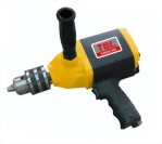 16mm Industrial Pistol Type Reversible Air Gear Driven Drill (4 Gears)