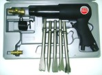 "250mm Hex. Shank Air Hammer With 5Pcs 7"" Chisels"
