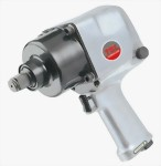 "1"" Pistol Type Heavy Duty Twin Hammer Mechanism Air Impact Wrench With 1""/6"" Anvil"
