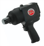"1""Heavy Duty Pistol Type Twin Hammer Mechanism Mini Impact Wrench With Handle Exhaust"