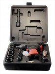 "17Pcs 1/2"" Composite Industrial Air Impact Wrench Kit"