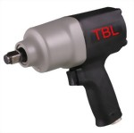 "1/2"" Industrial Composite Twin Hammer Mechanism Air Impact Wrench"