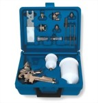 Professional H.V.L.P Gravity Feed Air Spray Gun Kit