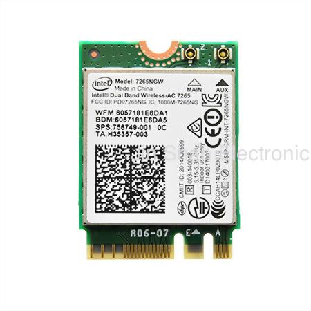 Intel® Dual Band Wireless-AC 7265