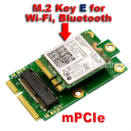 PCIe USB  to mPC...M.2 Pcie Interface Slot