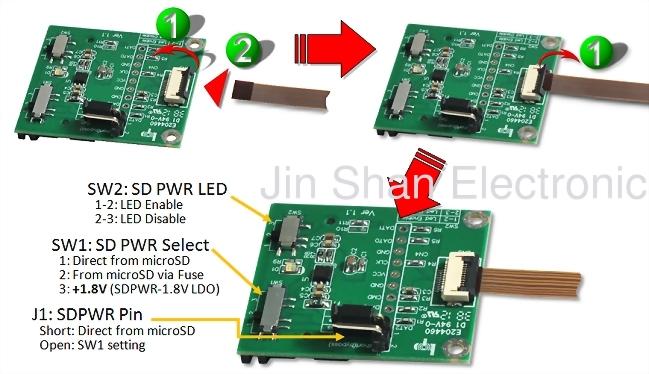sd 转 micro sd fpc软排延伸板
