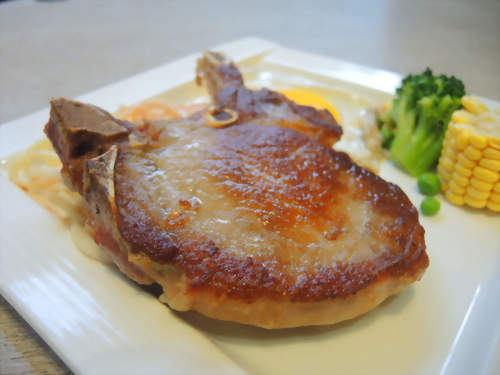 法式香煎豬排