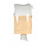 duffle top jumbo bag with bottom spout