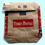 Kraft Paper Block Bottom Valve Bag-1