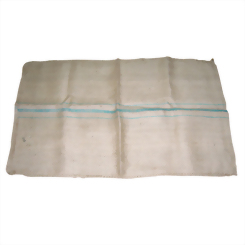 Jute bag (green stripe)