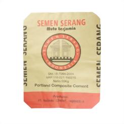 50kg Kraft Paper Cement Bag