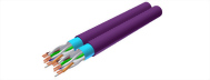 Siamese Cable(Cat.5e-Cat.7)
