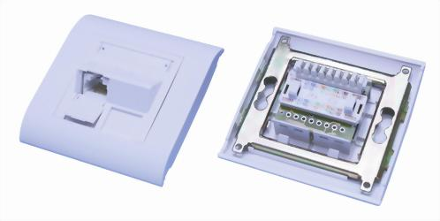 French Type 45 Degree Module Wall Plates