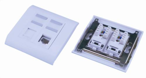 French Type Flat Module Wall Plates