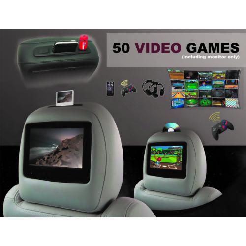 Headrest Entertainment System