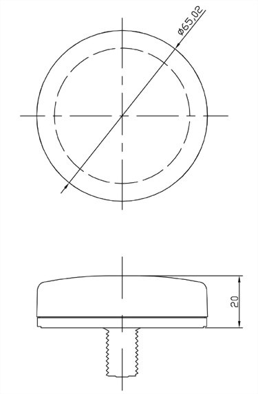 LTE Antenna Mechanical Diagram