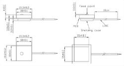 GPS Antenna Module Mechanical Diagram
