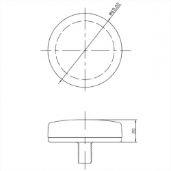 LTE Antenna Mechanical Diagram