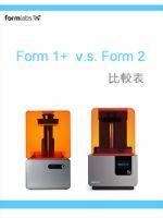 form1+及form2比較表