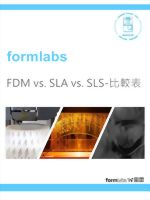 FDM vs. SLA vs. SLS-比較表