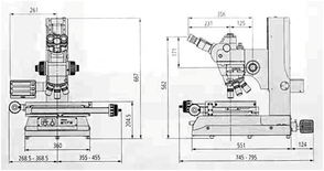 Mitutoyo MF-U工具金相顯微鏡