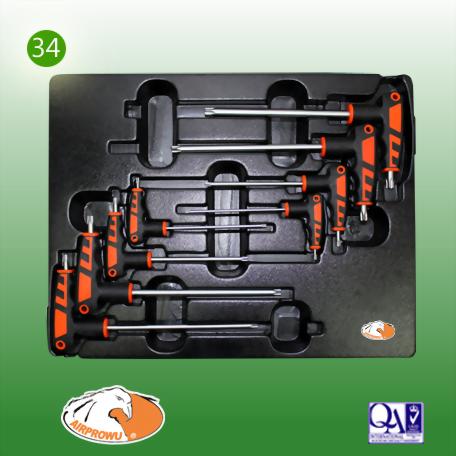 8PCS L Type Star Key Wrench Set