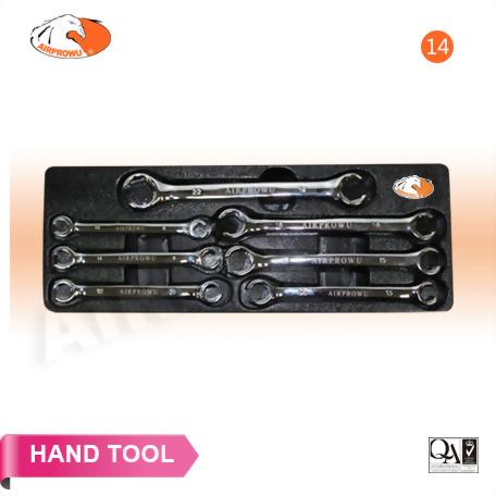 7PCS Flare Nut Wrench Set