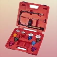 Universal radiator pressure tester kit