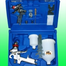 COMBO PAINT SPRAY GUN KIT