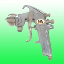 PRESSURE FEED SPRAY GUN