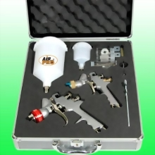 COMBO GRAVITY FEED PAINT SPRAY KIT