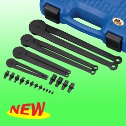 Wrenches For Nuts With Top Holes Tool Set