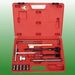 14PCS Diesel Injector Seat Cutter Master Kit