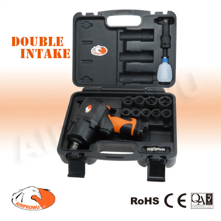 """1/2"""" Composite Air Impact Wrench Kit (14pcs)"""