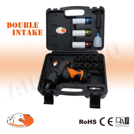 """1/2"""" Composite Air Impact Wrench Kit (17pcs)"""