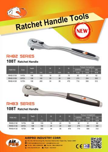 72T & 108 T Ratchet Handle