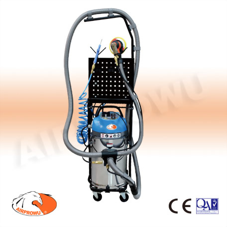 1 Person Mobile Dust Vacuum System w/o Sander