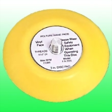 "3"" Vinyl Face Pad"