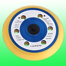 """6"""" Vinyl Face Pad with 6 Holes"""