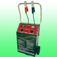 HEAVY DUTY WHEEL BATTERY CHARGER AND ENGINE STARTER
