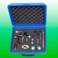 WATER BASE SUCTION FEED HVLP & HIGH TRANSFER EFFICIENCY SPRAY GUN KIT
