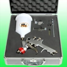 HIGH TRANSFER EFFICIENCY GRAVITY FEED SPRAY GUN KIT