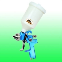 GRAVITY FEED SPRAY GUN W/0.6 LITER NYLON CUP