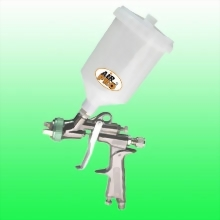 HVLP GRAVITY FEED SPRAY GUN w/0.6 LITER NYLON CUP