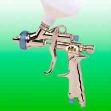LVLP GRAVITY FEED SPRAY GUN W/0.6 LITER NYLON CUP