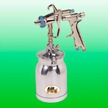 LVLP SUCTION FEED SPRAY GUN W/1.0 LITER ALUM CUP